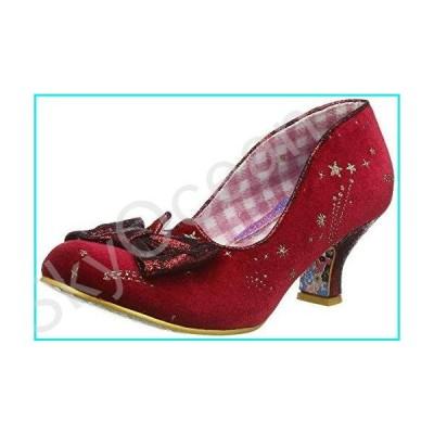 Irregular Choice Dazzle Razzle Court Shoes Women Red - 6.5 - Court Shoes【並行輸入品】
