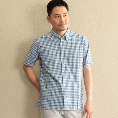 【オーガニックコットン使用】ナイスブリーズギンガムチェックシャツ