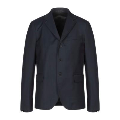 ロベルト カヴァリ ROBERTO CAVALLI テーラードジャケット ダークブルー 48 コットン 53% / ポリエステル 25% / ウール