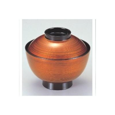小吸椀 新越前椀茶金刷毛目 SH塗 漆器 高さ70 直径:111/業務用/新品