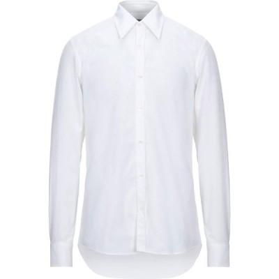 ドリス ヴァン ノッテン DRIES VAN NOTEN メンズ シャツ トップス solid color shirt White