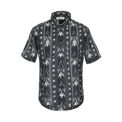 SAINT LAURENT シャツ スチールグレー 39 コットン 100% シャツ