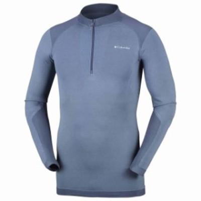 columbia コロンビア アウトドア 男性用ウェア Tシャツ columbia m-engineered-half-zip