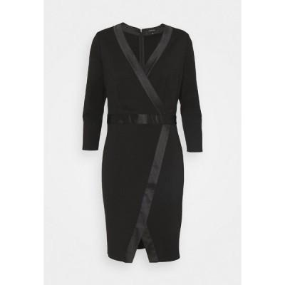 カンマ ワンピース レディース トップス Shift dress - black