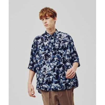 tk.TAKEO KIKUCHI / クラッシュプリントオーバーシャツ MEN トップス > シャツ/ブラウス