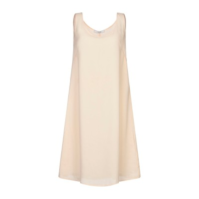 LANACAPRINA ミニワンピース&ドレス サンド 42 ポリエステル 100% ミニワンピース&ドレス