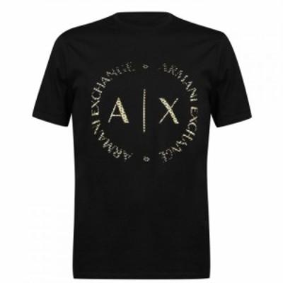 アルマーニ Armani Exchange メンズ Tシャツ トップス 5 Tasche T Shirt Black