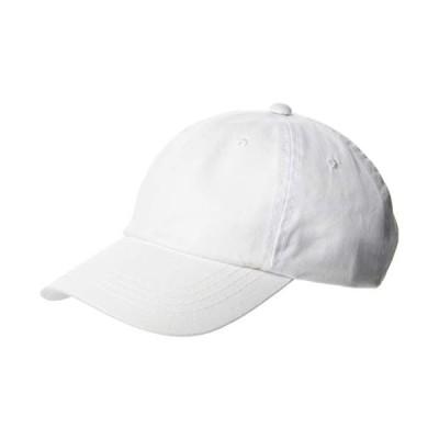 スカラ BC108 NASSER ナッサー キャップ アウトドア スポーツ 帽子 ウォッシュツイル ホワイト 日本 56-60cm (FRE