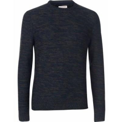 クリミナル Criminal メンズ ニット・セーター トップス harran multi coloured knitted jumper Forest
