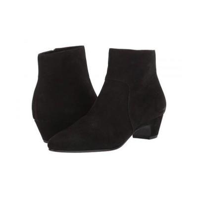 Eileen Fisher アイリーンフィッシャー レディース 女性用 シューズ 靴 ブーツ アンクルブーツ ショート Prim - Black Nubuck