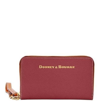 ドゥニー&バーク 財布  Dooney & Bourke Claremont ジップ  スマホ  ポーチ Bordeaux