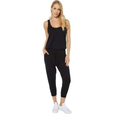 ボビ ロサンゼルス bobi Los Angeles レディース オールインワン ジャンプスーツ ノースリーブ ワンピース・ドレス Supreme Jersey Sleeveless Jumpsuit Black