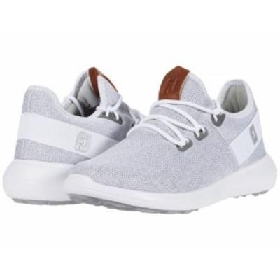 FootJoy フットジョイ レディース 女性用 シューズ 靴 スニーカー 運動靴 Flex Coastal Spikeless White/White/Grey【送料無料】