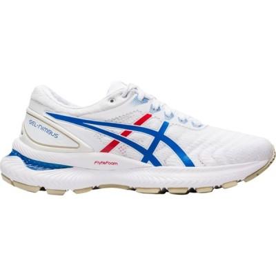 アシックス ASICS レディース ランニング・ウォーキング シューズ・靴 gel-nimbus 22 White/Electric Blue/Red Retro Tokyo