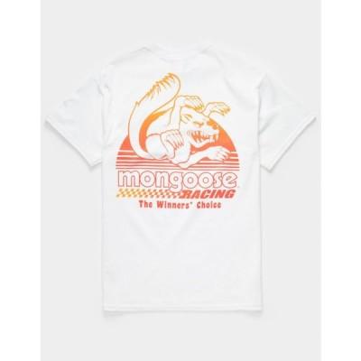 アワー レジェンズ OUR LEGENDS メンズ Tシャツ トップス Mongoose Racing Sunset T-Shirt WHITE