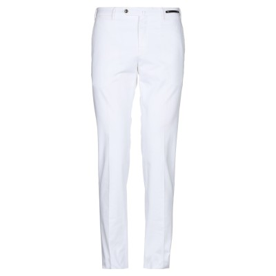 PT Torino パンツ ホワイト 54 コットン 96% / ポリウレタン 4% パンツ