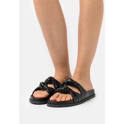 レディース 靴 シューズ DOUBLE TWIST - Mules - black