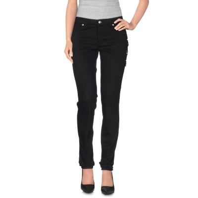 VERSUS VERSACE パンツ ブラック 24 コットン 97% / ポリウレタン 3% パンツ