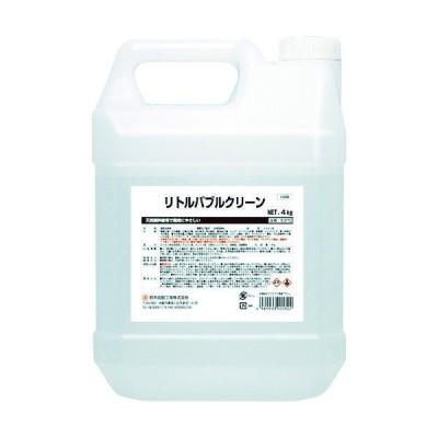 鈴木油脂工業 SYK リトルバブルクリーン 4kg S-2772 1個(4000g) 760-6419(直送品)