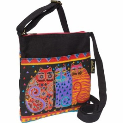 Laurel Burch  ファッション バッグ Laurel Burch Feline Friends - Multi Cross-Body Bag NEW