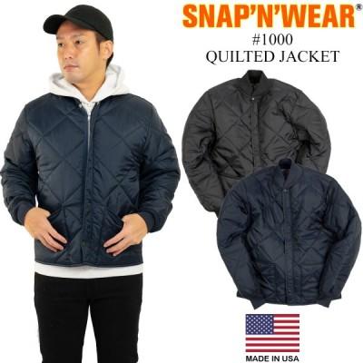 スナップンウエア SNAP'N'WEAR #1000 キルトジャケット アメリカ製 米国製 QUILTED JACKET キルティング ジャケット