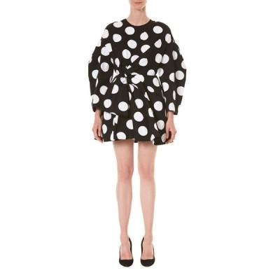 キャロライナヘレラ レディース ワンピース トップス Polka-Dotted T-Shirt Dress