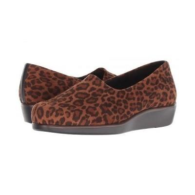 SAS サス レディース 女性用 シューズ 靴 ローファー ボートシューズ Bliss - Tan Leopard