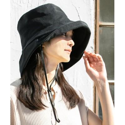 QUEENHEAD / 紐付きブリムハット WOMEN 帽子 > ハット