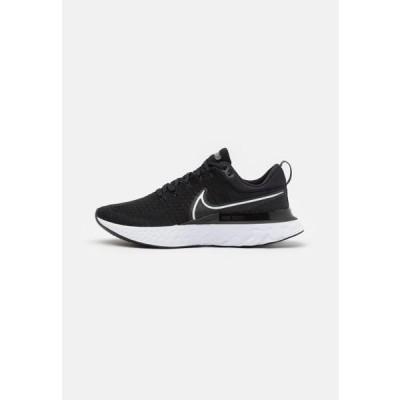 ウニサ メンズ スポーツ用品 REACT INFINITY RUN FK 2 - Neutral running shoes - black/white/iron grey
