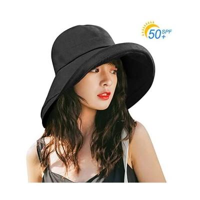 Kodi uvカット 帽子 レディース ハット キャップ 紫外線対策 日よけ ファッション 通気 つば広 カジュアル 小顔効果