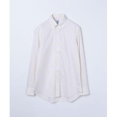 TOMORROWLAND/トゥモローランド ERRICO FORMICOLA コットン ボタンダウン ドレスシャツ 43 ベージュ 40