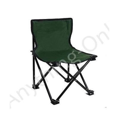 新品 Tuuertge Portable Folding Stool Outdoor Leisure Folding Chair Camping Barbecue Sketch Portable Fishing Chair Fishing Chair (Color : Green, Si