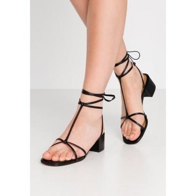 フー ワット ウェア サンダル レディース シューズ GENESIS - Sandals - black