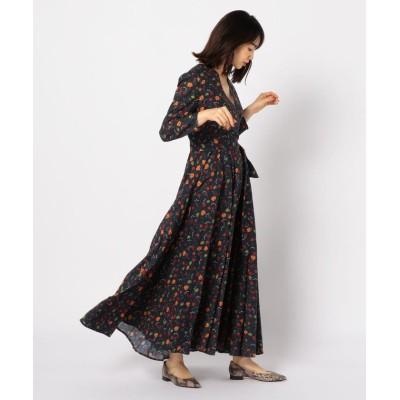 【ノーリーズ】 マドモアゼルのドレス レディース ブラック・グレー系3 38 NOLLEY'S