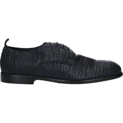 アーネストドラーニ ERNESTO DOLANI メンズ シューズ・靴 laced shoes Black