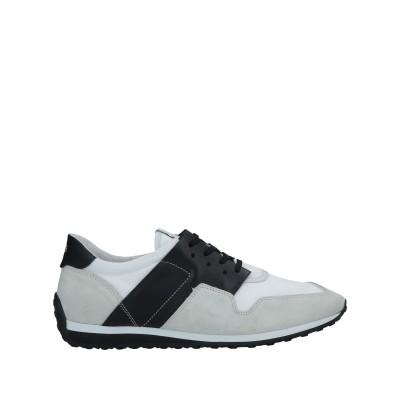 トッズ TOD'S スニーカー&テニスシューズ(ローカット) ブラック 8.5 革 / 紡績繊維 スニーカー&テニスシューズ(ローカット)