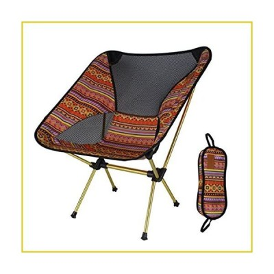 Portable Camping Chair Portable Camping Chair - Compact Ultralight Folding Backpacking Chairs,for Outdoor,Camp,Picnic,Hiking Gravity-Free Su