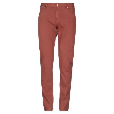 PT Torino パンツ 赤茶色 32 コットン 98% / ポリウレタン 2% パンツ