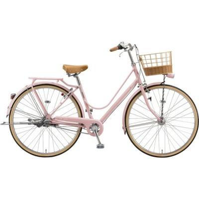 送料無料 ブリヂストン シティサイクル自転車 カジュナ DX CS7T1 E.Xサンドピンク
