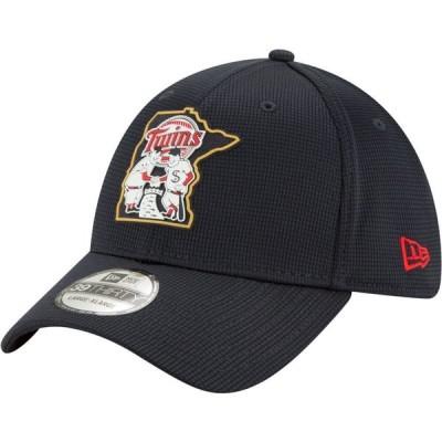 ニューエラ New Era メンズ 帽子 Minnesota Twins Navy 39Thirty Clubhouse Stretch Fit Hat