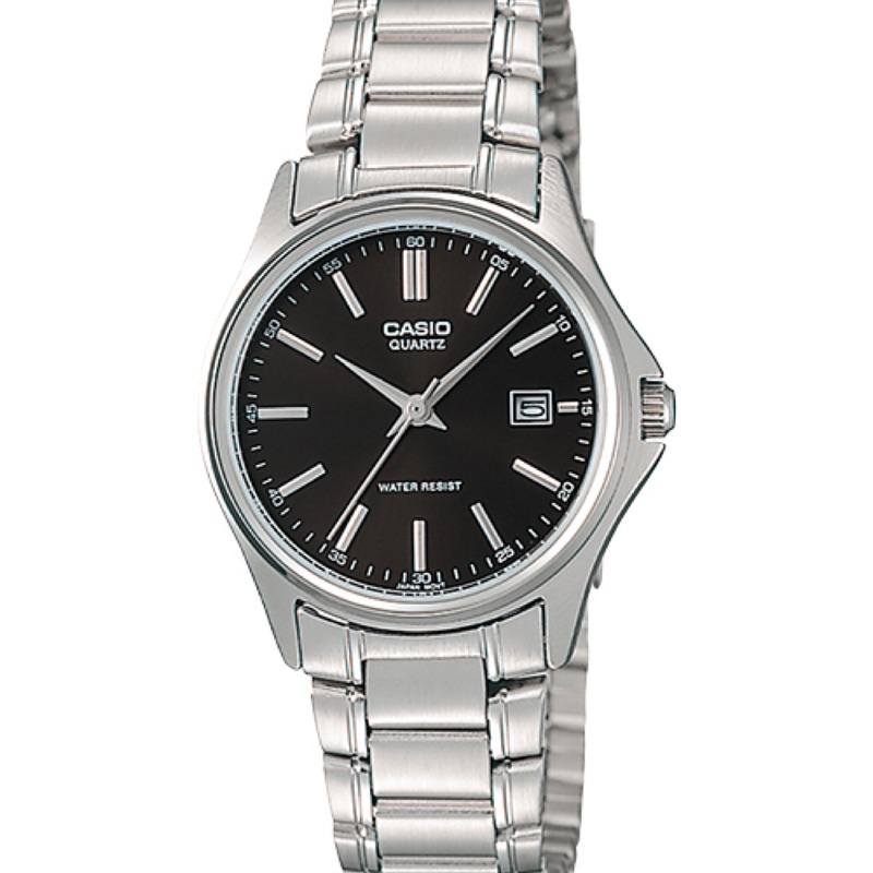 CASIO簡潔大方的三針-時分秒針設計LTP-1183A-1A  MTP-1183A-1A 女錶