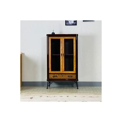 二本松市 ふるさと納税 〈創業明治2年、田中家具謹製〉二本松伝統家具 欅ModernStyle キャビネット60