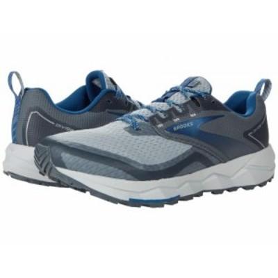 Brooks ブルックス メンズ 男性用 シューズ 靴 スニーカー 運動靴 Divide 2 Quarry/Grey/Dark Blue【送料無料】