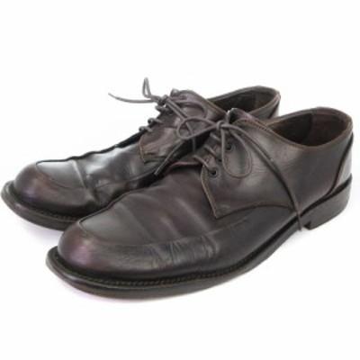 【中古】ワールド フットウェア ギャラリー WORLD FOOTWEAR GALLERY ビジネスシューズ レザー ブラウン系 8 靴 メンズ
