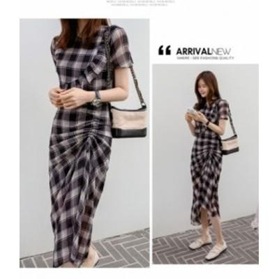 40代のファッションレディース ワンピース ロングレディースワンピース 透け感 涼しげワンピ ロングスカート 大きいサイズ きれいめカジ