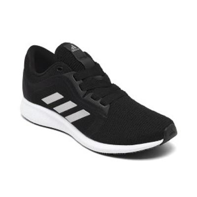 アディダス レディース スニーカー シューズ Women's Edge Lux 4 Running Sneakers from Finish Line Core Black, Silver