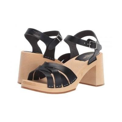Swedish Hasbeens スウェディッシュハズビーンズ レディース 女性用 シューズ 靴 ヒール Elsie - Black