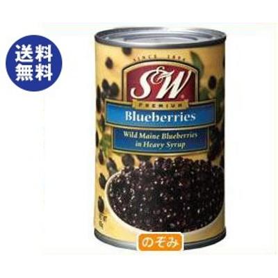 送料無料 【2ケースセット】 リードオフジャパン S&W ブルーベリー 4号缶 425g×12個入×(2ケース)