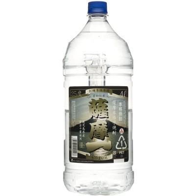 4/1日限定+3% 若松酒造 薩摩一 芋 25度 4000ml 4L 1本