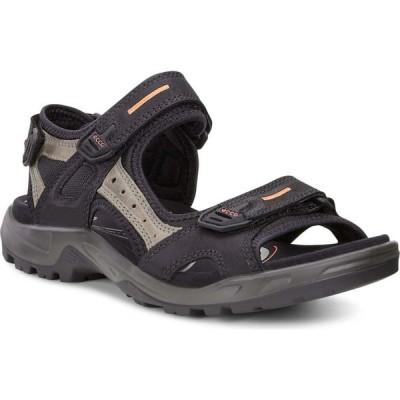 エコー ECCO メンズ サンダル シューズ・靴 'Yucatan' Sandal Black/Mole/Black
